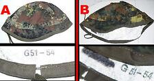 U  1 (One) x New German Reversible White / Flecktarn Helmet Cover