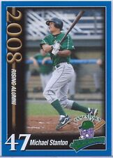 "MICHAEL ""GIANCARLO"" STANTON 2008 JAMESTOWN JAMMERS TEAM ISSUE ROOKIE CARD!"