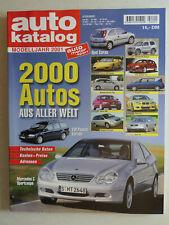 auto katalog Modelljahr 2001 Nr. 44 - Vereinigte Motor-Verlage GmbH, 298 Seiten