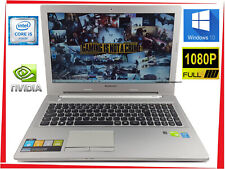 """15.6"""" Lenovo Z50 Gaming Laptop Core i5 up to 2.7GHz 8GB 1000GB SSHD GeForce"""