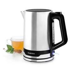 Wasserkocher 2200W 1,7 Liter Edelstahl Wasserstandsanzeige Teekocher kabellos