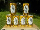 6 PACK OF OLDE FROTHINGSLOSH GIRL SEXY LADY YELLOW OLD BEER CAN