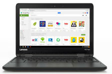 "Lenovo N23 11.6"" Chromebook, Celeron N3060 1.6GHz 4GB 16GB Chrome OS, 80YS0061UK"