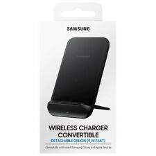 Samsung Wireless Charger Convertible Stand 9w Qi Certified - Black