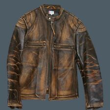 LEVI LVC BONNEVILLE M CAFE RACER LEATHER MOTORCYCLE JACKET BIKER VTG Seth Green