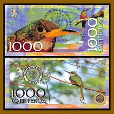 """El Club De La Moneda 1,000 Cafeteros, 2016 """"D"""" Series Rufous-taild Jacamar Bird"""