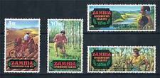 Zambia 1972 Conservation Year 2nd issue SG172/5 MNH