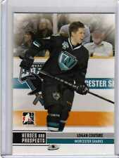 LOGAN COUTURE 09/10 ITG Prospects Update Pre-Rookie #151 San Jose Sharks Card
