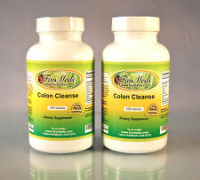 Colon Cleanse, Pysillium husk, Cascara Sagrada ~200 (2x100) tablets. Made in USA