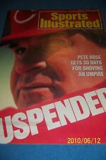1988 Sports Illustrated CINCINNATI REDS Suspended PETE ROSE No Label FREE/SHIP