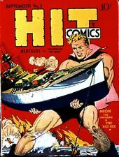 HIT COMICS GOLDEN AGE COLLECTION PDF FORMAT ON CD