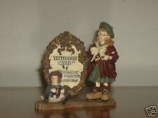 Boyds Resin Dollstone Anne and Madeline The Masterpiece