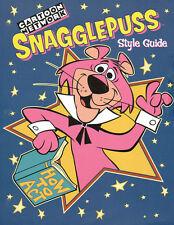 Hanna Barbera STYLE GUIDE PLATE - SNAGGLEPUSS
