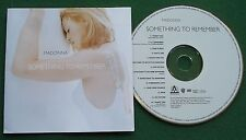 Madonna Something to Remember Absolutely Excellent Condition CD