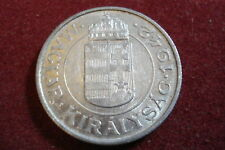 Hungary Hungarian Kingdom Regency Coin 1942 2 Two Pengo