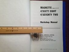 MG Magnette MK III & IV, Riley 4/ Sixty Eight & 4/ Seventy Two Workshop Manual