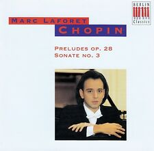 CHOPIN : 24 PRELUDES OP. 28 - SONATE NR. 3, MARC LAFORET / CD - TOP-ZUSTAND
