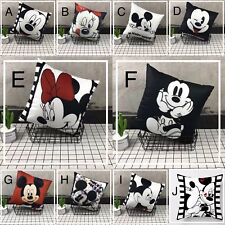 40x40cm Unstuffed Mickey Mouse Pillow Case Cover
