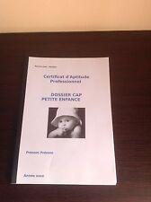 RAPPORT DE STAGE EP2  CAP PETITE ENFANCE18/20 4 structures