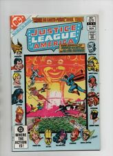 Justice League Of America #208 - Crisis On Earth Prime! Book 3 (Grade 9.2) 1982