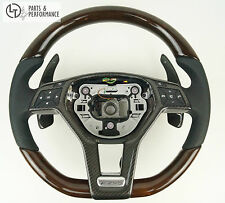 WURZELNUSS HOLZ Lenkrad für Mercedes-Benz AMG W212 W204 R172 R231 W176 C197