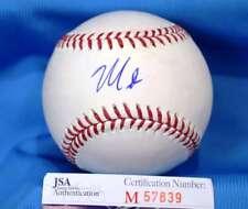 MARCO RUBIO JSA COA Hand Signed Major League Autograph Baseball