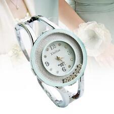 Women Fashion Design Bangle Watch Quartz Wrist Watch Suitable for Dress White TЮ