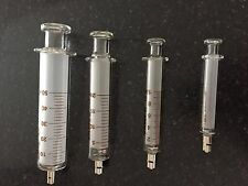 10cc glass syringe with metal luer lock