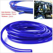 Universal 16.4ft Blue Soft Silicone Tube Hose Autos Engine Fuel/Air Vacuum Pipe