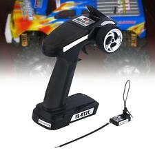 For FlySky FS-GT2E 2.4G LED Transmitter & Receiver Radio Control RC Car Boat  WT