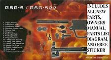 GSG 5 / GSG 522 FACTORY ORIGINAL REPLACEMENT PARTS SET GSG SPARE PARTS KIT *NEW*