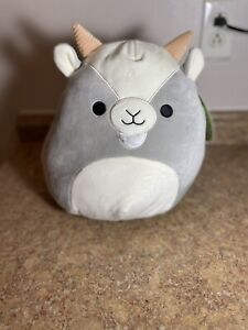 """🐐NEW Squishmallows 11"""" WALKER Gray Goat EASTER 2021 New With Tags!!! **RARE**"""