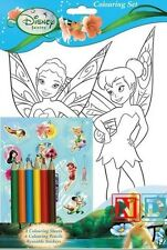 Disney Fairies TinkerBell Colouring Set