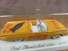 SOLIDO BOX AGE D'OR FORD THUNDERBIRD 4517 COCA COLA piece exceptionnelle RARE