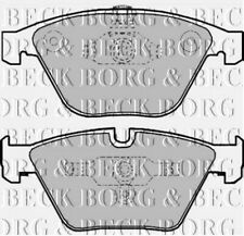 BBP1969 BORG & BECK FRONT BRAKE PADS fits BMW 3 Series 330d 06-  NEW O.E SPEC!