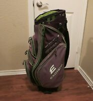 Exotics Xtreme 3 Cart Golf Bag, 14-Way Club Divider, 9 Pockets & Rain Cover