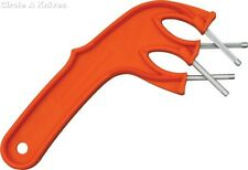 "EDGEMAKER KNIFE SHARPENER - THE EDGEMAKER PRO #331 ORANGE - 8 1/2"" Overall - USA"