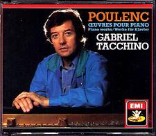 Gabriel TACCHINO: POULENC Suite Francaise Nocturnes 2CD Mouvements perpétuels