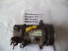 9659875780 Peugeot 207, 307, 408 Citroen C2, C3, C4 Klimakompressor