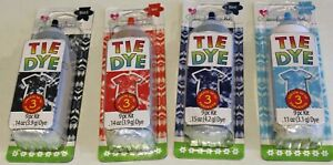 Create Basics Tie Dye Kit 9 Piece 1 One Single Color Bottle Up to 3 Projects