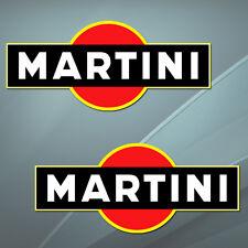 Martini Renn Rallye Auto Aufkleber Stickers Motorrad Lancia Alfa Focus B 125