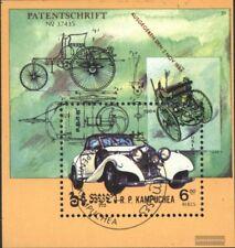 Cambogia Bloque 139 (edición completa) usado 1984 coches