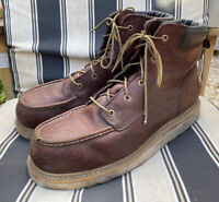 Red Wing Irish Setter Work Boots Size 14 D Safety Toe 83606 Brown Leather EH