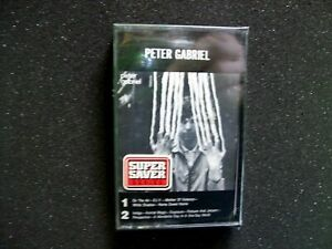 Peter Gabriel SEALED 1978 Cassette Tape New Wave Art Rock D.I.Y On The Air