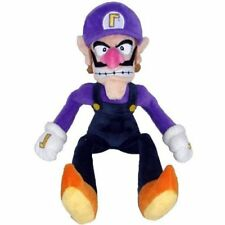 Little Buddy Super Mario Bro. Waluigi Plush Doll Toy 11 inch Xmas Gift US Ship