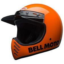 BELL MOTO 3 HELMET - CLASSIC FLO ORANGE  - MX - **FAST FREE DELIVERY**