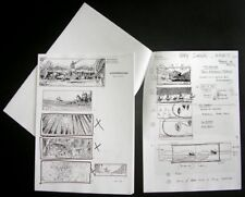 Gladiator STORYBOARDS with Ridleygrams director Ridley Scott sketches & remarks