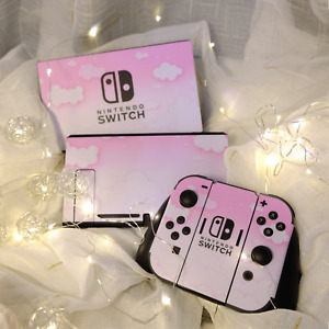 Nintendo Switch Console Skin Cute Cartoon Vinyl Decals Stickers