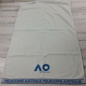 Australia Open Melbourne Towel White/Blue  48×26.5