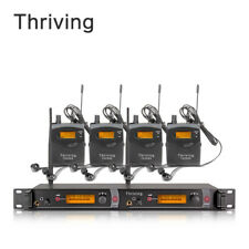 UHF Wireless In Ear Monitor System Professional SR2050 Type MONO 4 Receivers